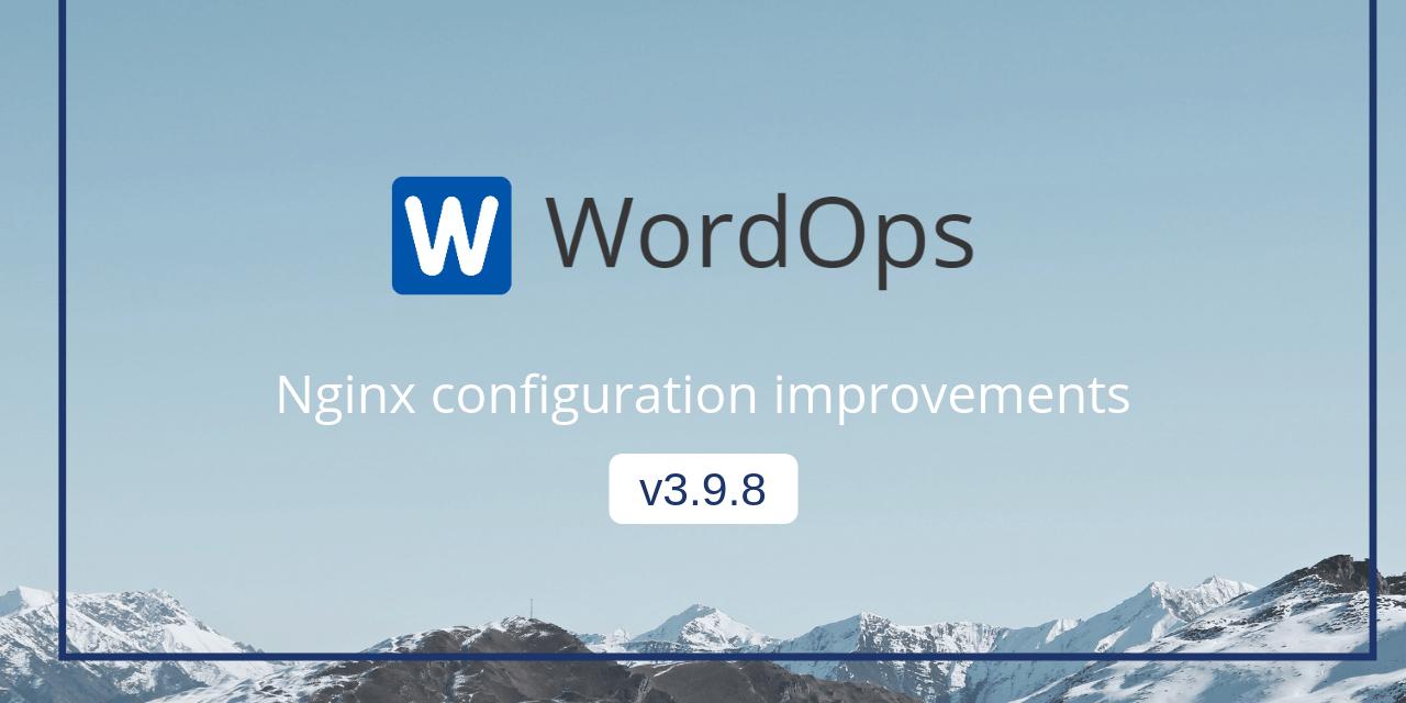 Wordops Release V3.9.8