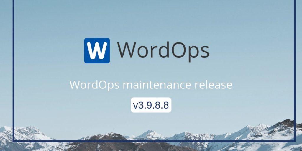 Wordops V3.9.8.8